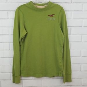Hollister HCO Cotton Crewneck Pullover Sweater